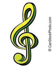 Musiksymbol.