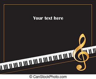 Musikunterhaltungsposter