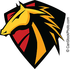 Mustang Hengste, Grafikmaskottchen ima