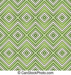 muster, abstrakt, grün, seamless, zickzack
