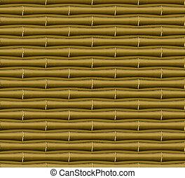 muster, bambus, seamless