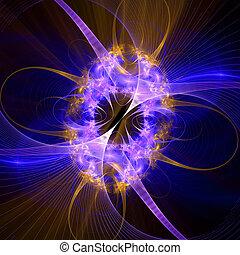 muster, lights., hell, glühen, edv, gitter, erzeugen