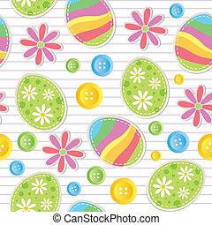 muster, ostern, seamless