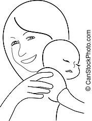 Mutter und Kind,