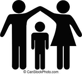 Mutter-Vater-Kinderschutz