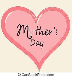 Mutters Tageskarte.