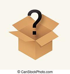 Mystery Box Icon .