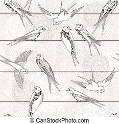 Nährloses Vogelmuster deaktivieren