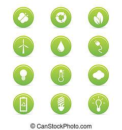 Nachhaltigkeitssymbole.