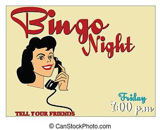 nacht, bingo