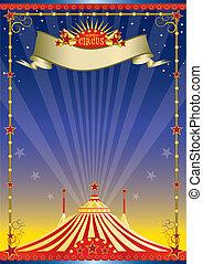 Nacht Zirkusposter