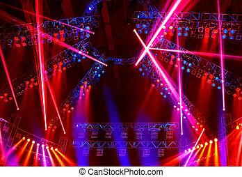 Nachtclub Lichter