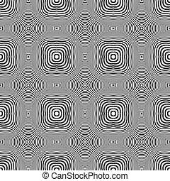 Nahelose geometrische Textur.