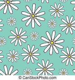 Naheloser Hintergrund mit Blumen.