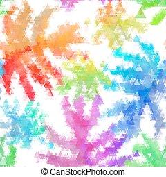 Naheloses organisches, wasserfarbenes Hintergrundmuster in Vektor.