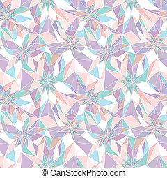Nahmlose abstrakte geometrische Muster.