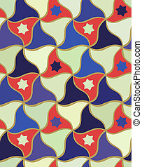 Nahmlose islamische geometrische Muster.