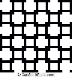Nahmlose orientalische Muster.