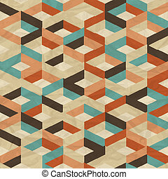 Nahmlose Retro-Geometrie.