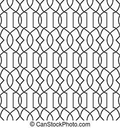 Nahtlose Muster im islamischen Stil - Variation 2