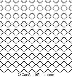 Nahtlose Muster im klassischen islamischen Stil