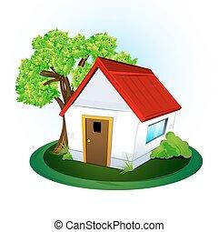 Natürliches Zuhause