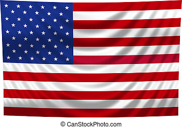Nationale Flagge USA