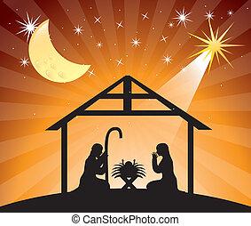 Nativity Szene