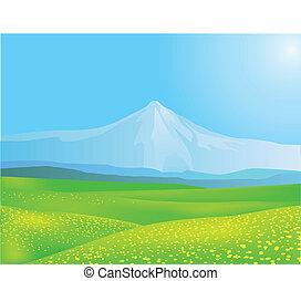 Natur Hintergrund.