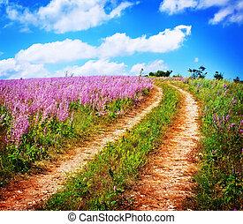 Natur in Krim.