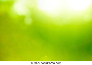 Naturgrüner Hintergrund abbrechen.