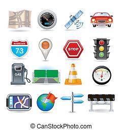Navigations-Icon-Set