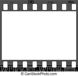 Negativer Filmrahmen