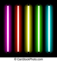 Neonröhrenlicht