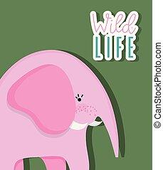 Netter Elefanten