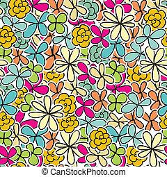 Netter floraler Hintergrund