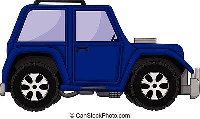Netter Jeep Cartoon.