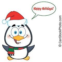 Netter Pinguintyp.