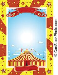 Netter Poster Zirkus