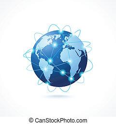 Network Globus Icon.