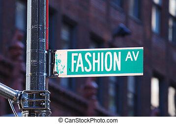 neu , mode, allee, york, stadt