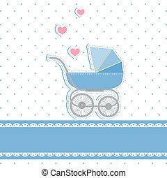 Neue Baby-Party-Einladungskarte