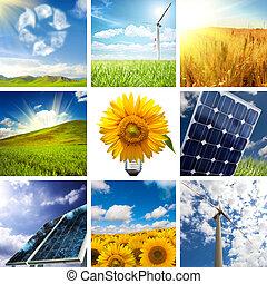 Neue Energiekollage