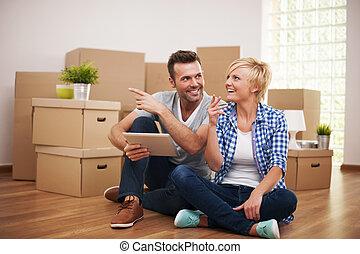 Neue Lösungen für die Wohnungsdekoration