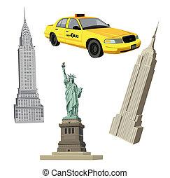 New York City-Symbole