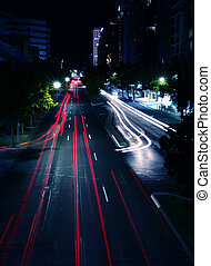 Night Street Szene
