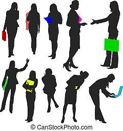 no.2., leute, -, geschäftsfrauen