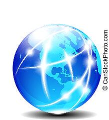 Nord- und Südamerika global