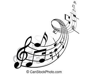 notizen, musikalisches