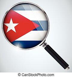 NSA USA Regierung Spionage Programm Land Kuba.